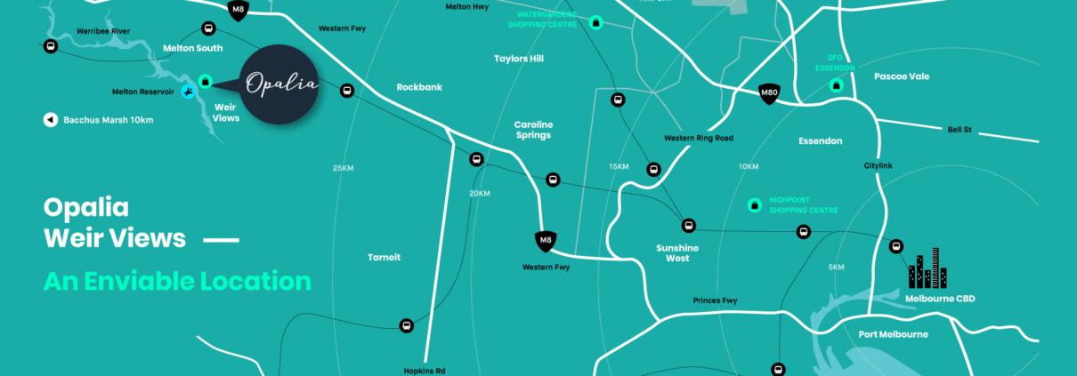 OPALIA Weir Views MAP - news