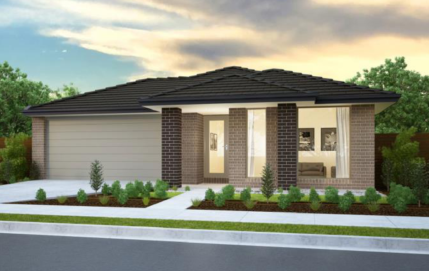 Burbank Carlton 206 Drysdale Facade Image Home and Land Package